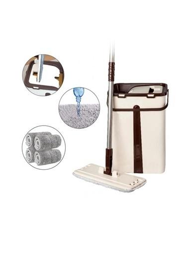 Alfa Home Alfa Home 4 Adet Yedek Moplu Sihirli Mop Tablet Temizlik Seti 3 +1 Bez Renkli